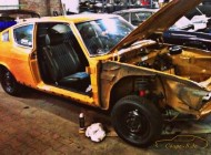 "Karosserie und Update 2014 am Audi 100 Coupe S ""MrsOrangina"""