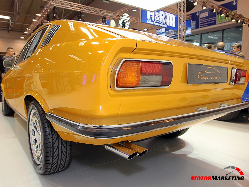 Audi 100 Coupe S - Heck
