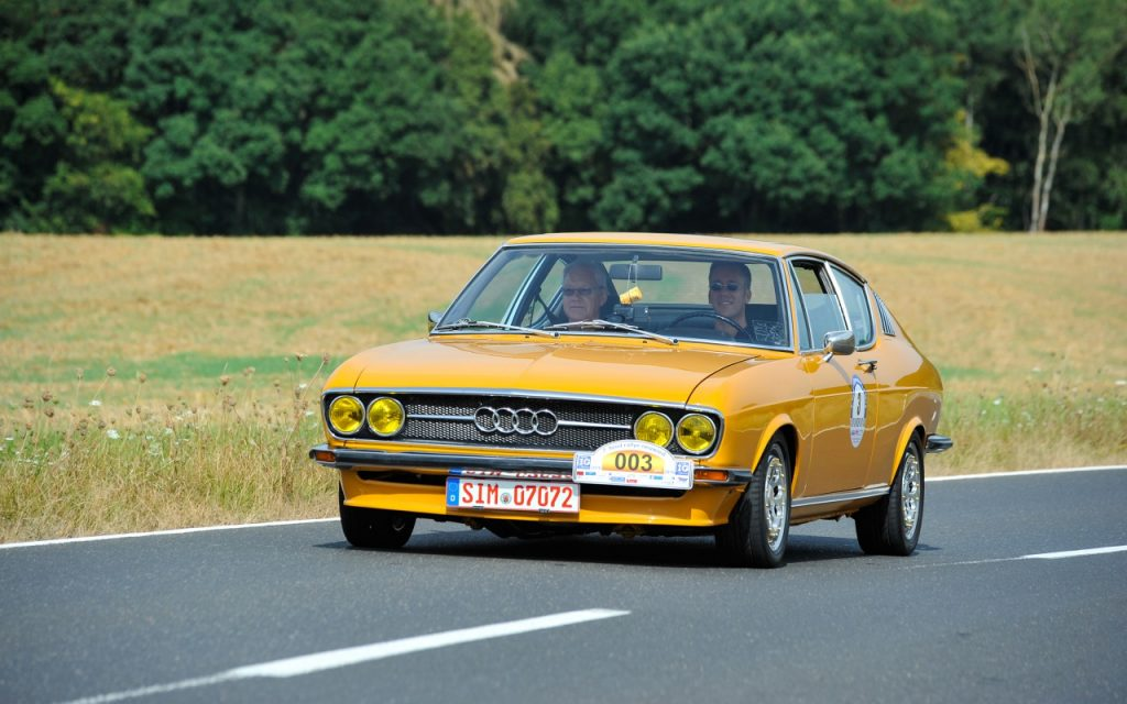 Audi 100 Coupe S MrsOrangina by PhotoAHRt