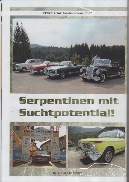 Trentino Classic 2012 Youngtimer Welt 2013