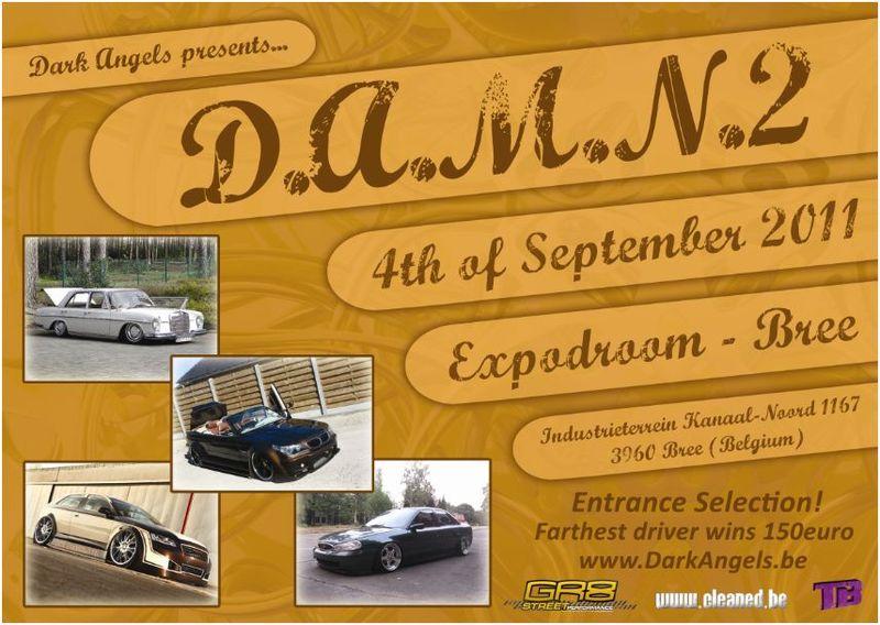 D.A.M.N. im Expodroom Bree / Belgien
