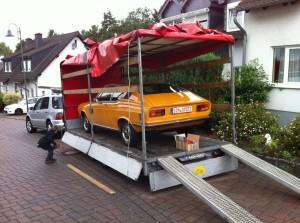 ADAC Trentino Classic Abfahrt