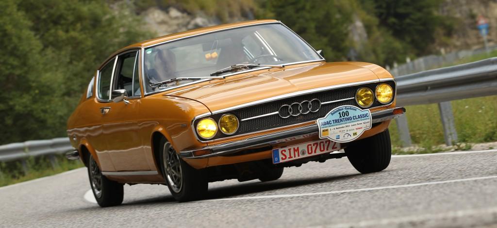 ADAC Trentino Classic 2012 Audi 100 Coupe S MrsOrangina