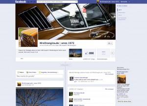 Facebook Fanpage Audi 100 Coupe S