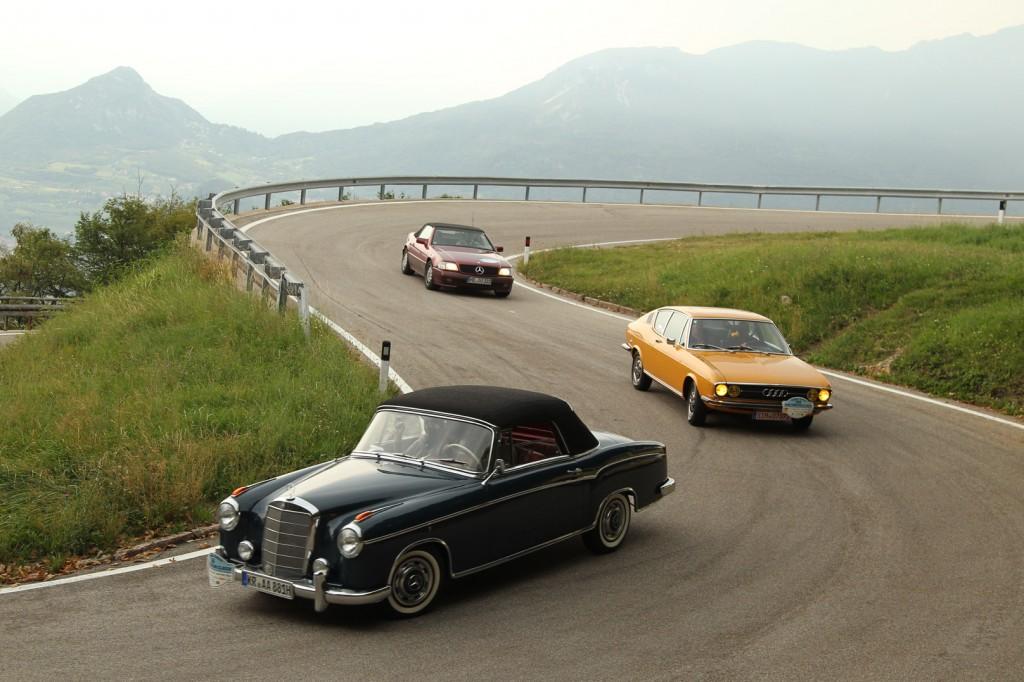 Audi 100 Coupe S Trentino Classic 2013
