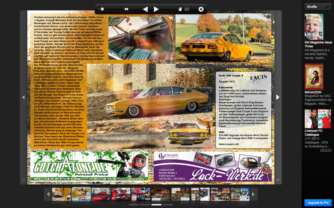 MrsOrangina im Magazin XS MAG März 2013