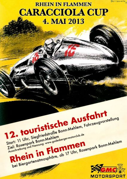 Caracciola Cup 2013 – Vorbericht zur Oldtimer Classic in Bonn – Bad Godesberg