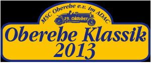Bilder zur Oberehe Klassik 2013 – 3. ADAC Oberehe Klassik