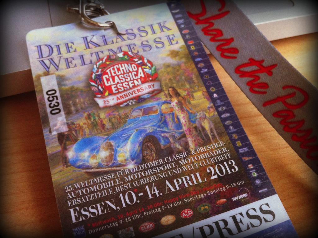 Zu Besuch auf der Techno Classica 2013