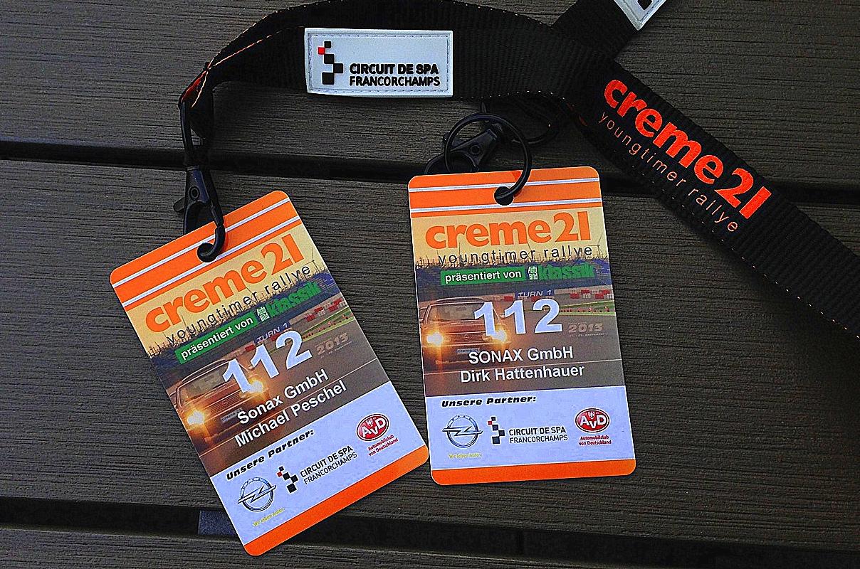 Creme21 – Zwei Tage unterwegs mit der orangenen Horde