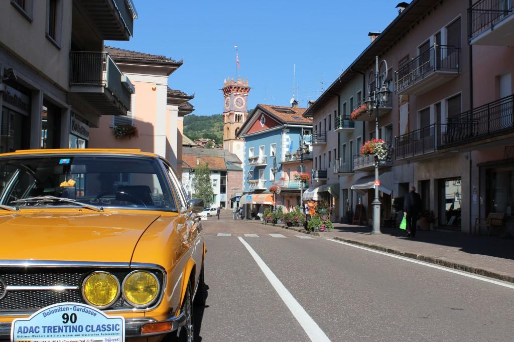 ADAC Trentino Classic 2013 Audi Coupe