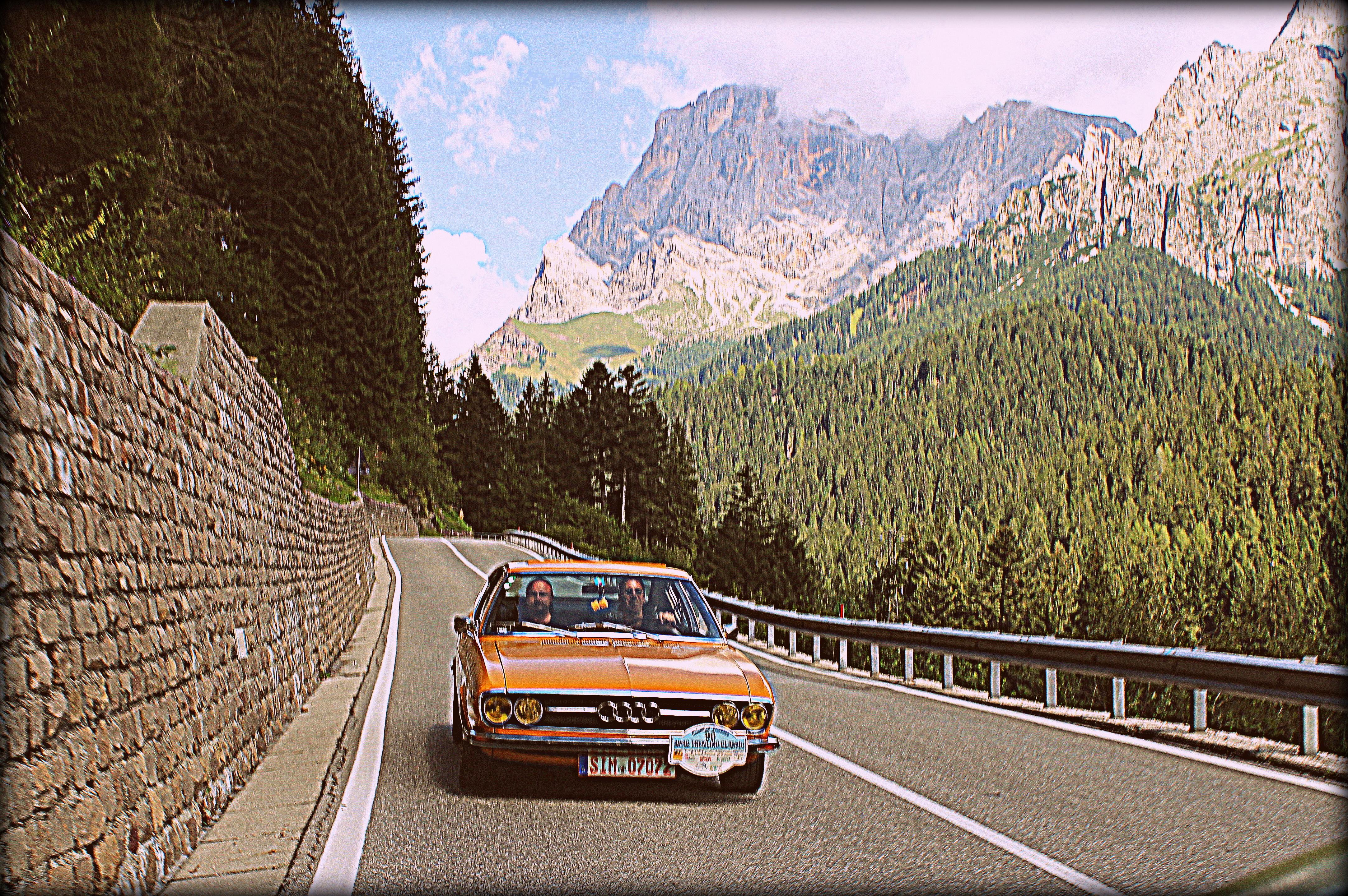 190 Etappenkilometer durch die Dolomiten zum Lago di Caldonazzo