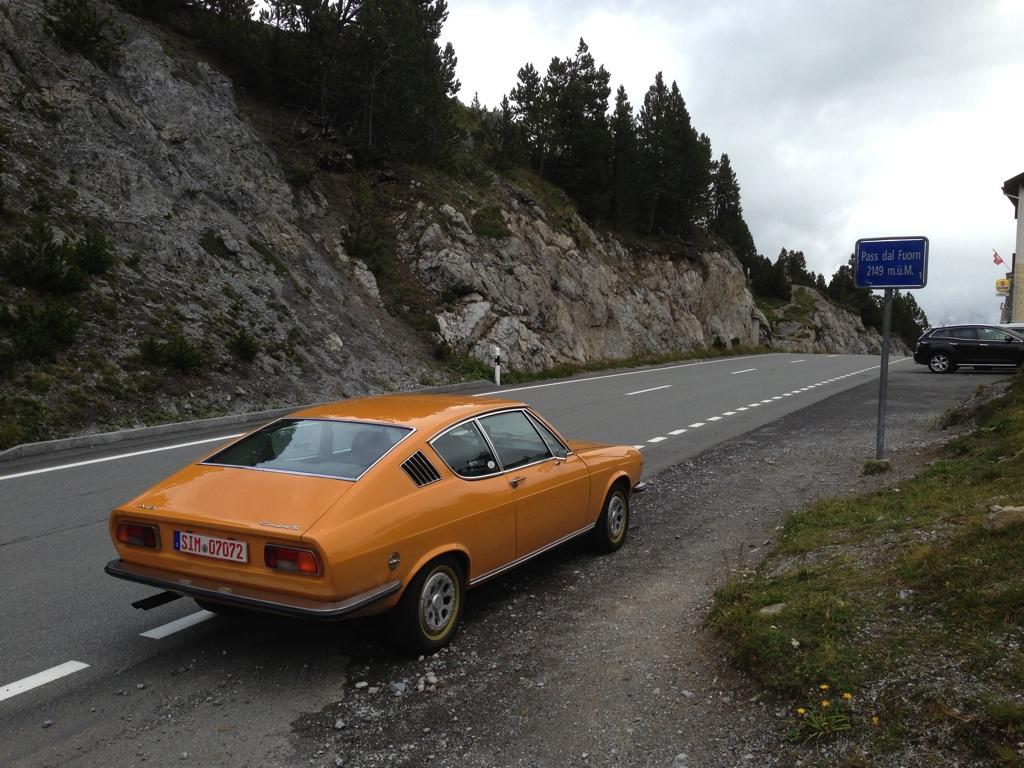 Oldtimer Alpenüberquerung