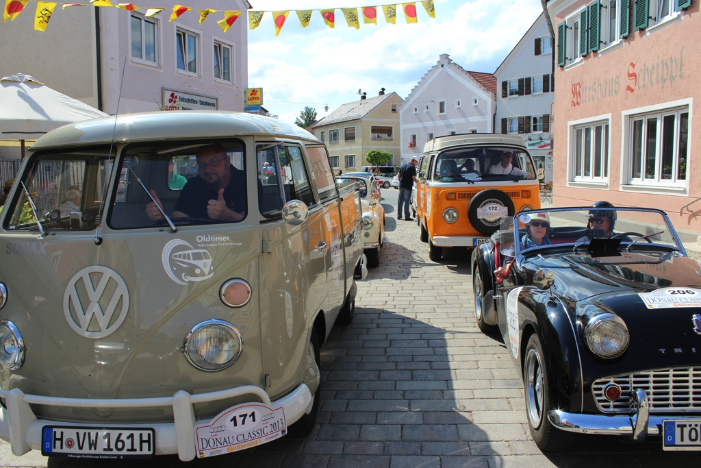 Bayerische Toskana am zweiten Tag der Donau Classic 2013