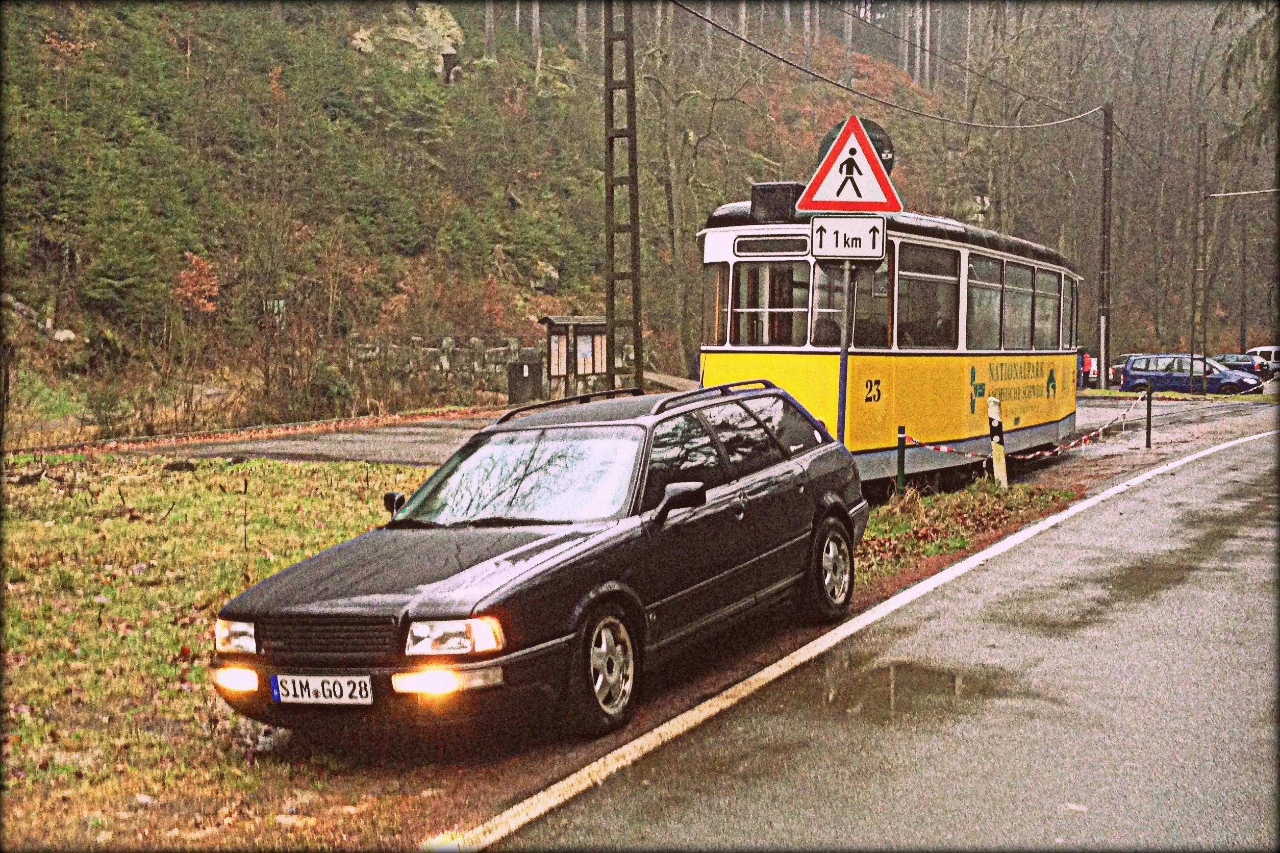 Mit dem Youngtimer durch die Republik – Roadtrip mit dem Audi 80 Avant quattro