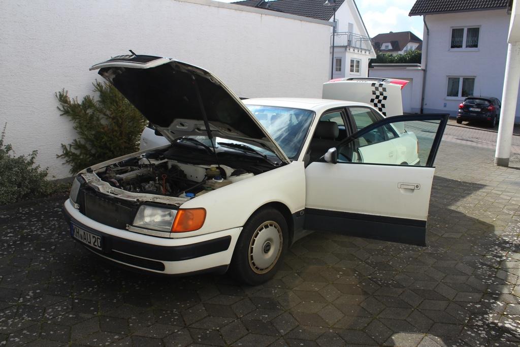 Audi 100 C4 – Auf den 5ender gekommen
