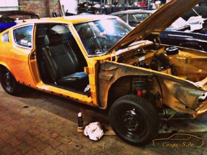 "Karosserie und Update 2014 am Audi 100 Coupe S ""MrsOrangina"""