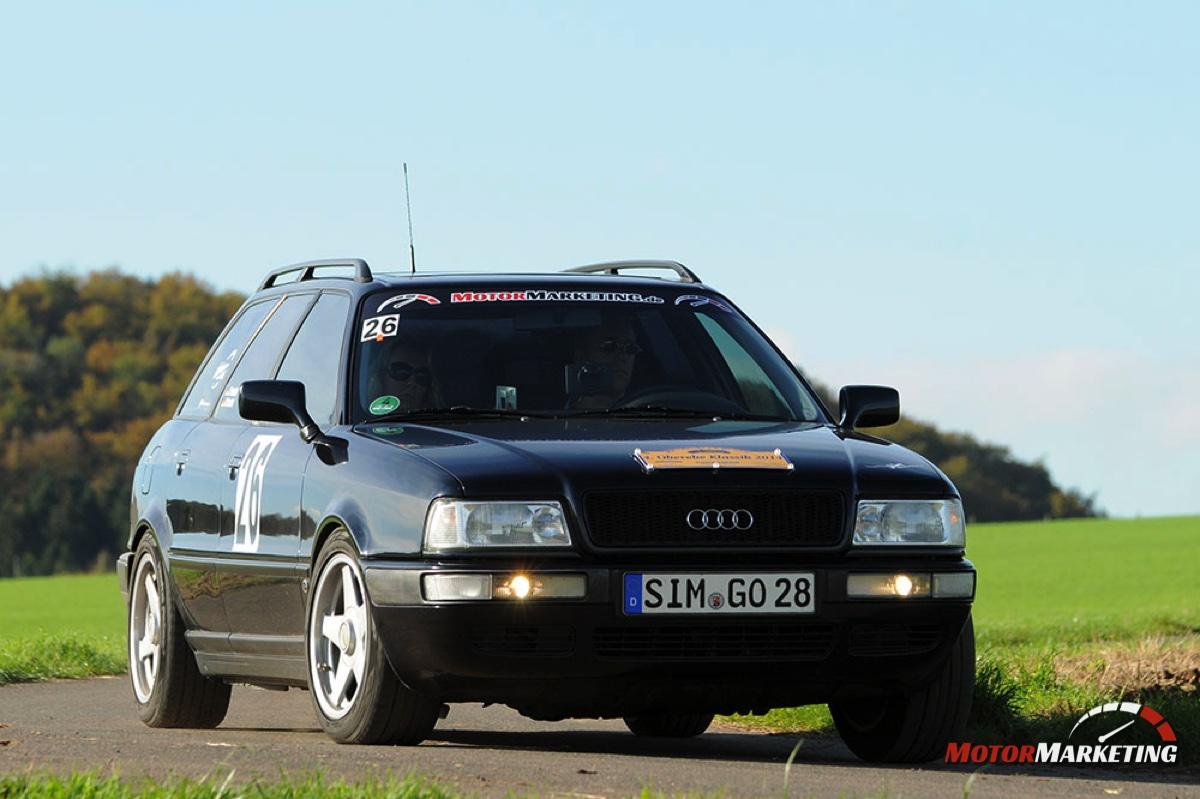 "Die Saison 2014 ohne das Audi 100 Coupé S ""MrsOrangina"""