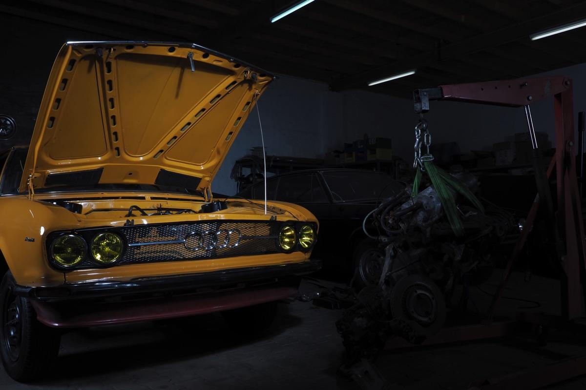 Audi 100 Coupe S Werkstatt 2014 - 1