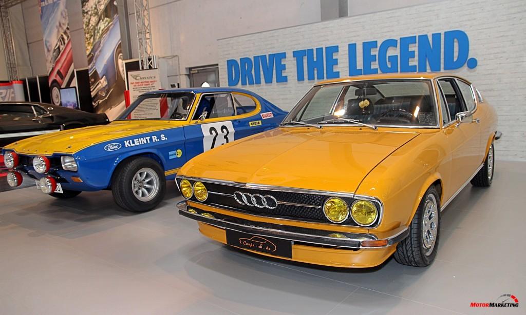 Audi 100 Coupe S - Techno Classica