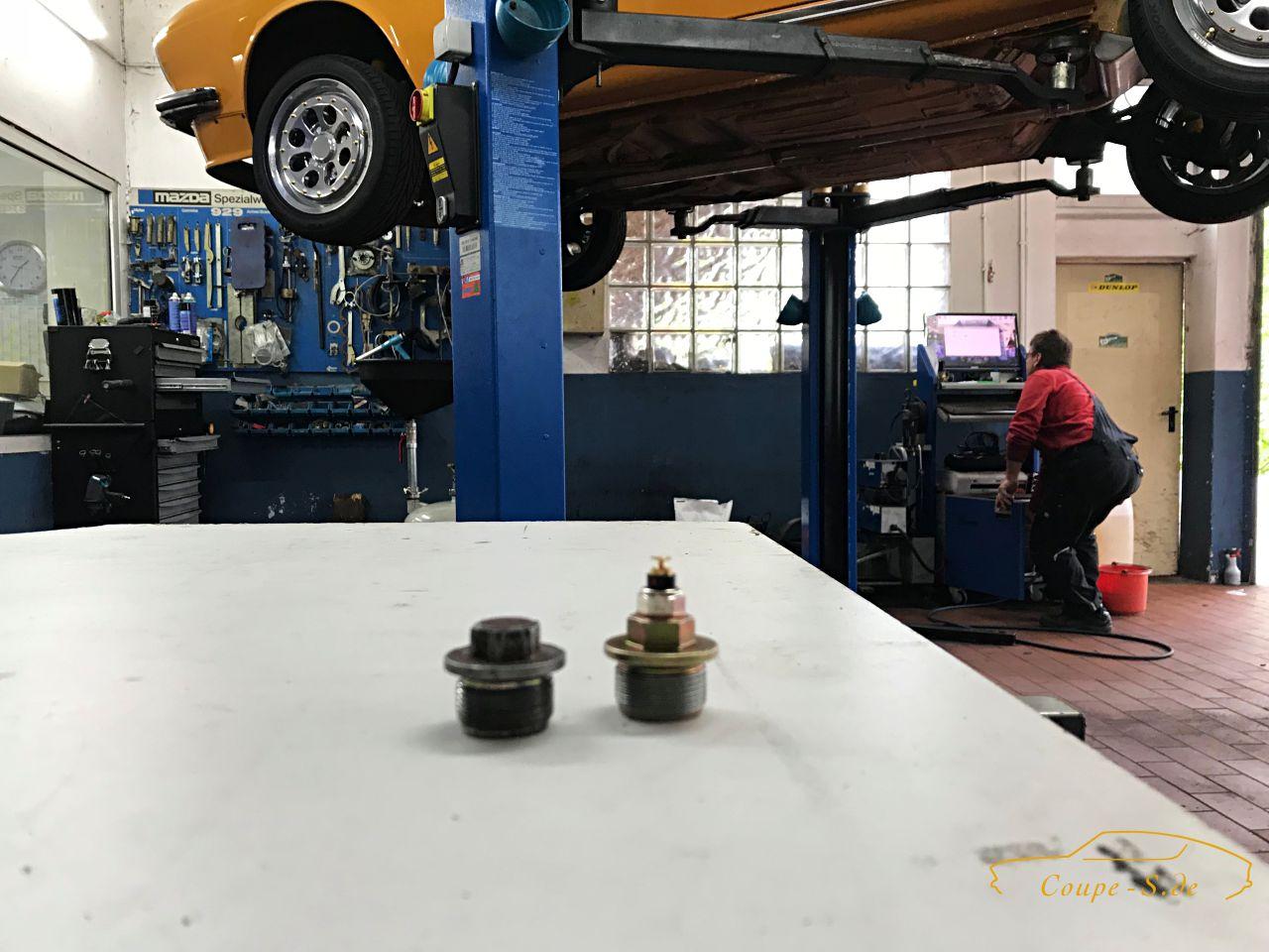 VDO Instrumente für das Audi 100 Coupe S – Öldruck, Öltemperatur und Voltmeter