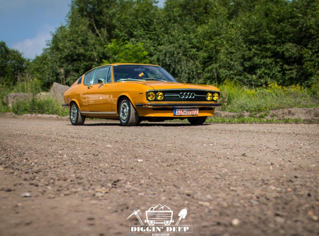 Diggin Deep Audi 100 Coupe